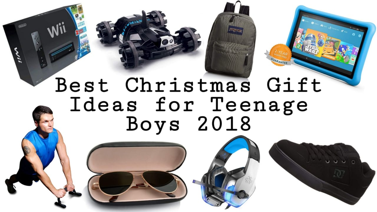 Best Christmas Gifts for Teenage Boys 2018 | Top Christmas Gift ...