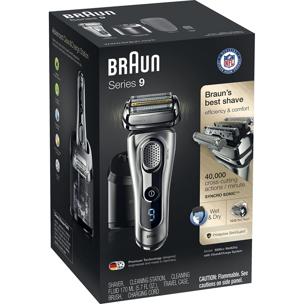 Braun Wet & Dry Shaver for Men - One of the Top 10 Christmas Gift Ideas for Him 2020