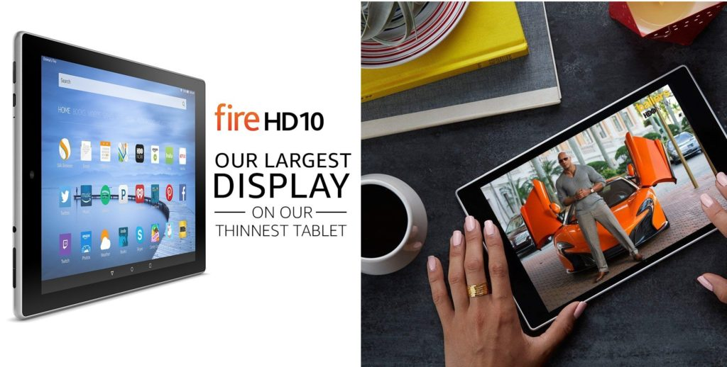Fire HD 10 Tablet - One of The TOp Christmas Gifts for Husband, Boyfriend or Brother