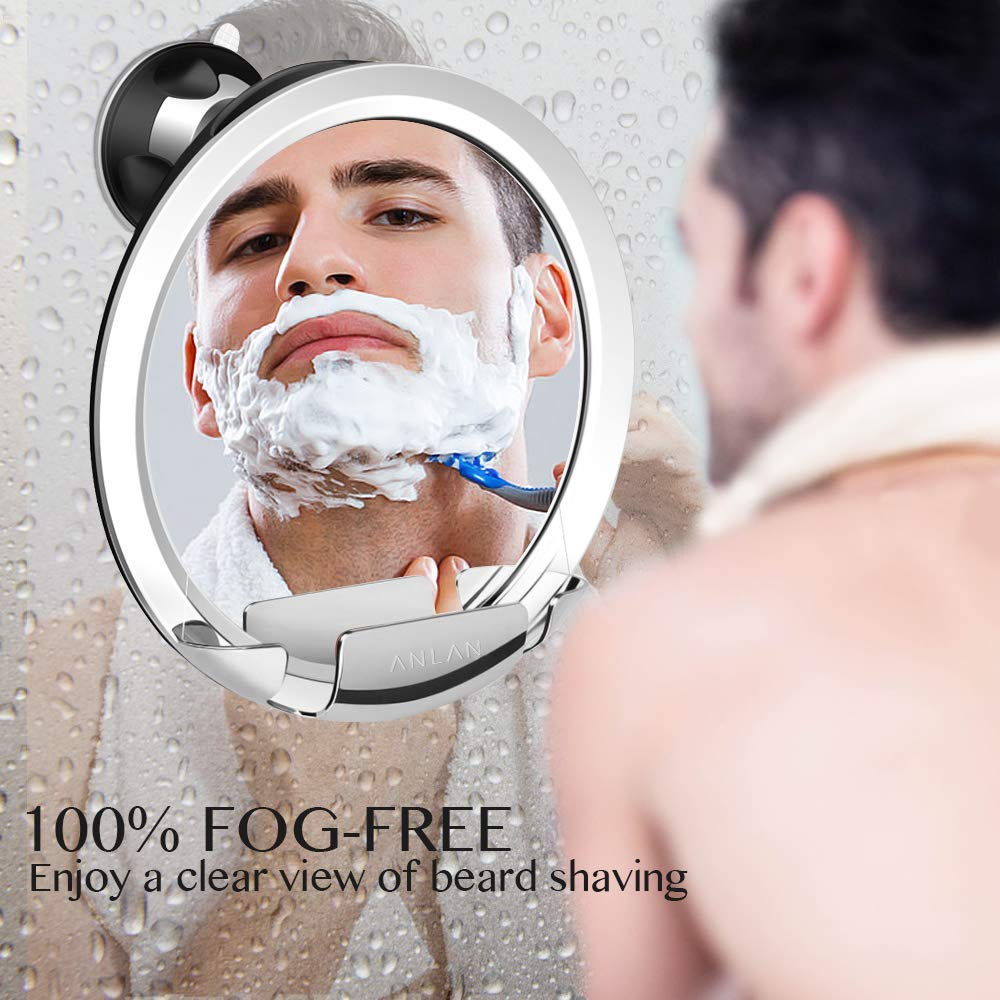 Fog Less Shower Mirror - A Perfect Christmas Gift for Men 2018