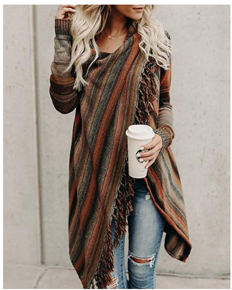 Stylish Long Sleeve Cardigan