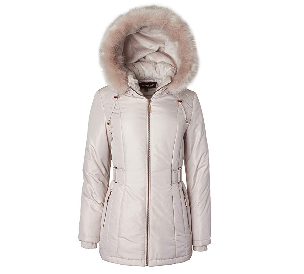 Women Hooded Down Coat