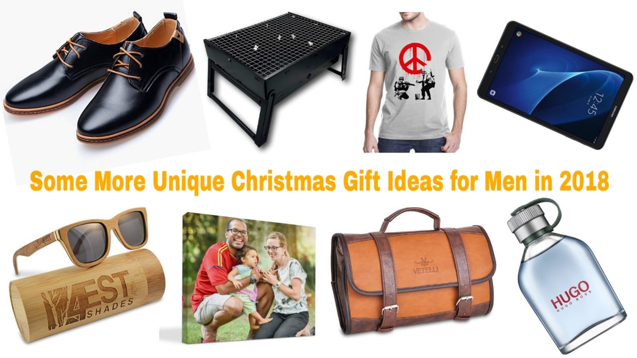 Few More Unique Christmas Gift Ideas for Men 2018
