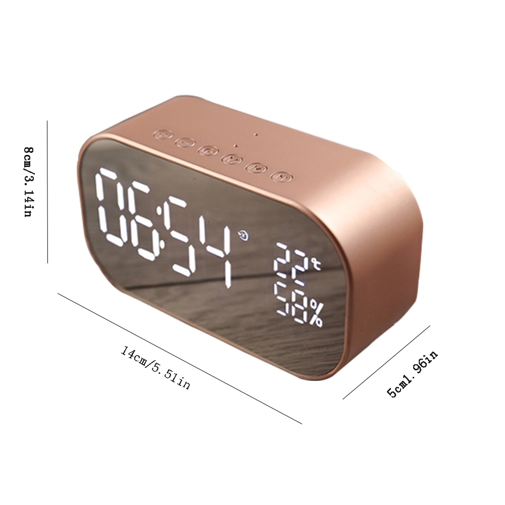 Best Wireless Bluetooth Speaker Alarm Clock 2021