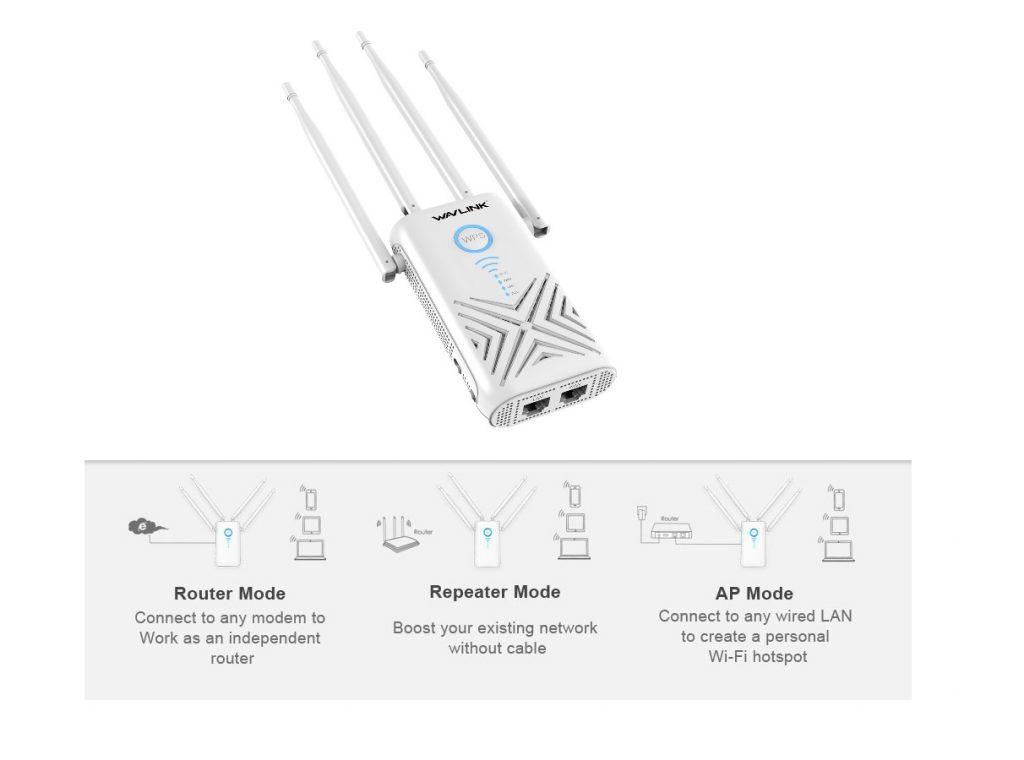 Wavlink Wifi Signal Repeater 2021