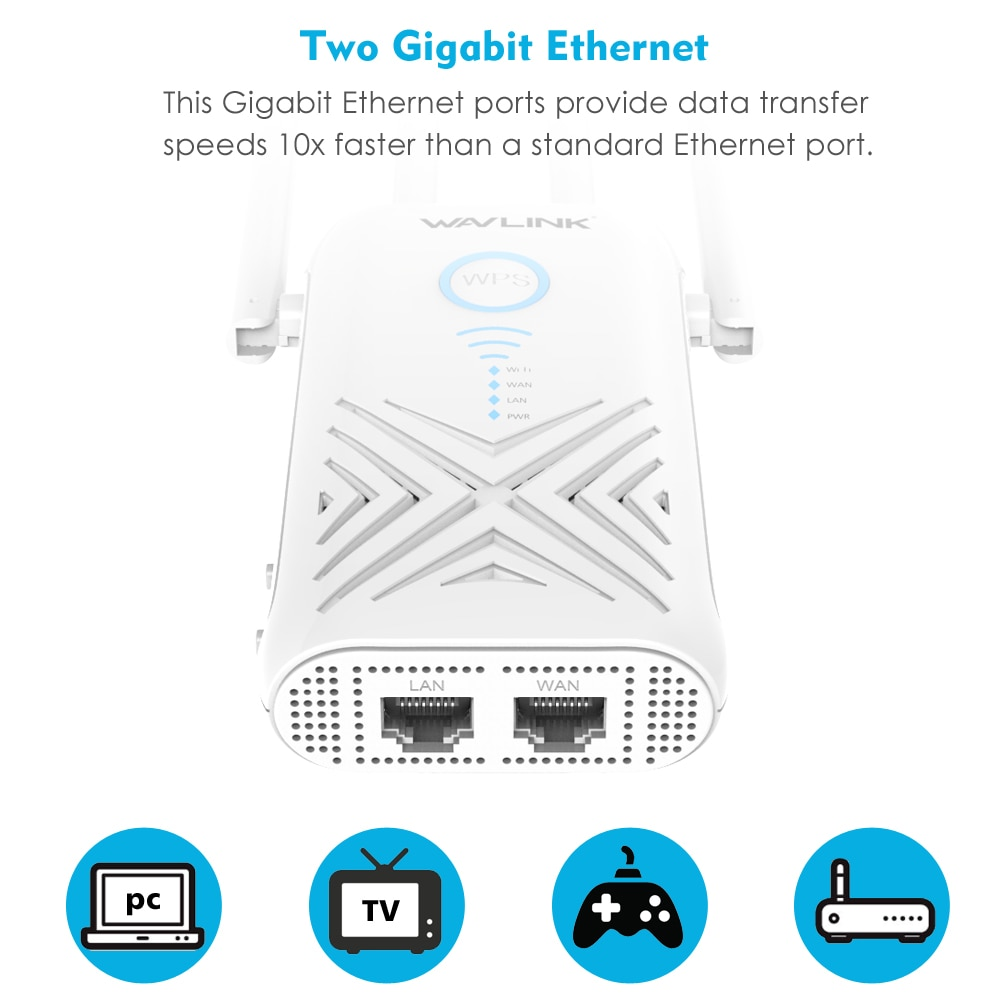 Wavlink WN579X Wifi Range Extender Review 2019 - 2020